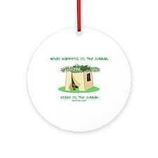 Sukkah Happenings Ornament (Round)