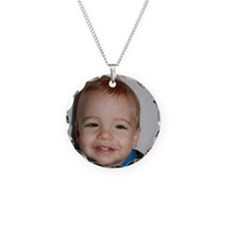 Nathan One Year Old Necklace Circle Charm