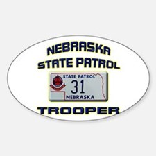 Nebraska State Patrol Decal