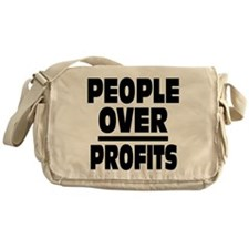 People Over Profits: Messenger Bag