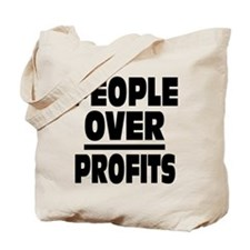 People Over Profits: Tote Bag