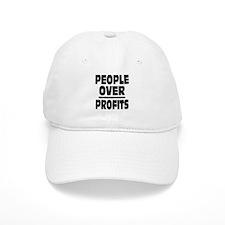 People Over Profits: Baseball Baseball Cap