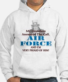 Air Force Grandson (F&B) Hoodie