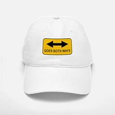 Goes Both Ways Baseball Baseball Cap
