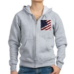 America Women's Zip Hoodie