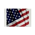 America Rectangle Magnet
