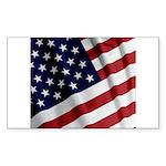America Sticker (Rectangle 50 pk)
