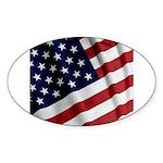 America Sticker (Oval 50 pk)
