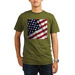 America Organic Men's T-Shirt (dark)
