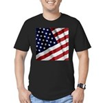 America Men's Fitted T-Shirt (dark)