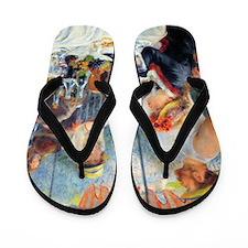 Renoir - Boating Party Flip Flops