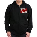 Canada Zip Hoodie (dark)