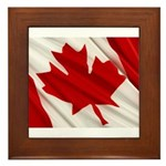 Canada Framed Tile