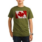Canada Organic Men's T-Shirt (dark)