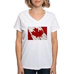 Canada Women's V-Neck T-Shirt
