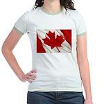Canada Jr. Ringer T-Shirt