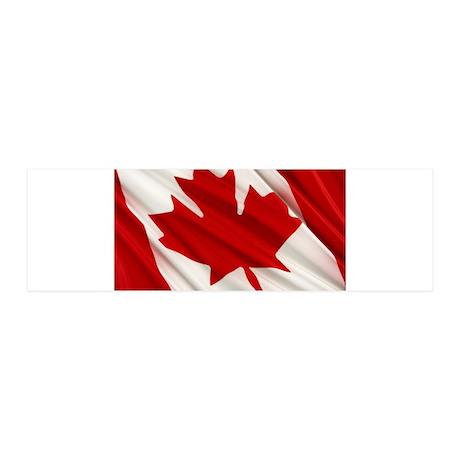 Canada 42x14 Wall Peel