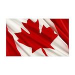 Canada 38.5 x 24.5 Wall Peel