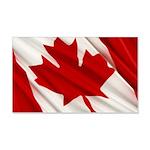 Canada 22x14 Wall Peel