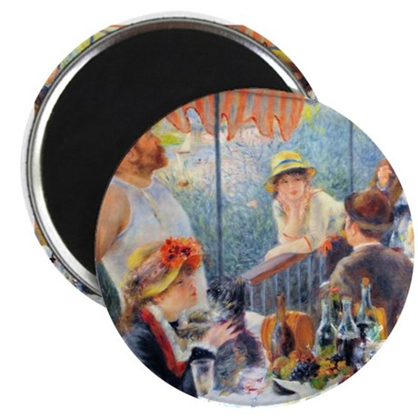 Renoir - Boating Party Magnet