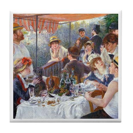 Renoir - Boating Party Tile Coaster
