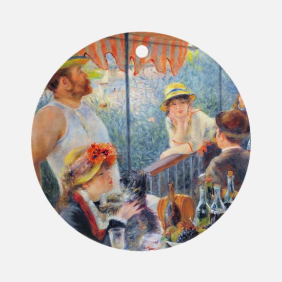 Renoir - Boating Party Ornament (Round)