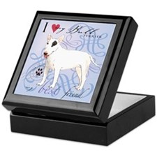 Bull Terrier Keepsake Box