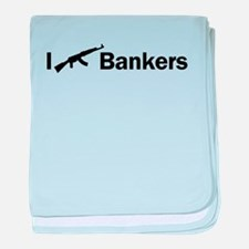 i ak47 bankers light colores baby blanket