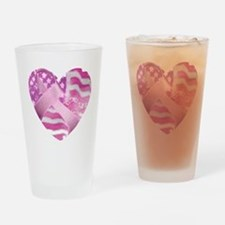 Cute Breast cancer cause Drinking Glass