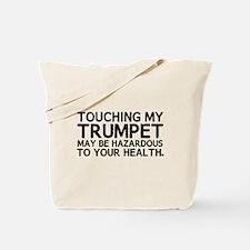 Trumpet Hazard Tote Bag