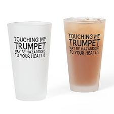 Trumpet Hazard Drinking Glass