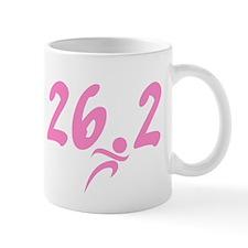 Pink 26.2 Marathon Mug