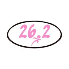 Pink 26.2 Marathon Patches