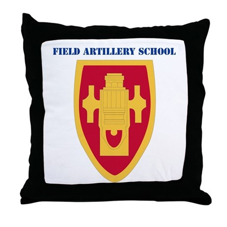 DUI - Field Artillery Center/School with Text Thro