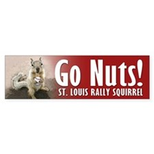 Rally Squirrel - The St Louis Bumper Sticker