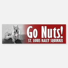 Rally Squirrel - The St Louis Sticker (Bumper)