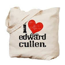 I Heart Edward Cullen Tote Bag