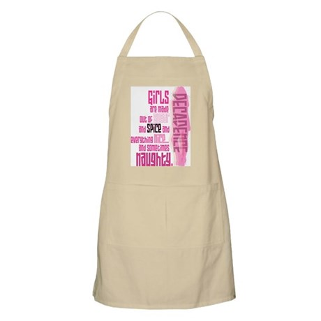 Lil Pink Crush Naughty or Nice Apron