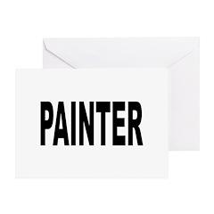 Painter Greeting Card
