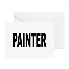 Painter Greeting Card