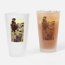 Pirate Captain Kidd Drinking Glass