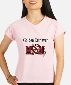 Golden Retriever Mom Performance Dry T-Shirt