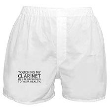 Clarinet Hazard Boxer Shorts
