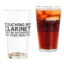 Clarinet Hazard Drinking Glass
