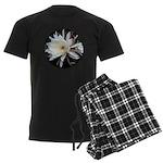 Epiphyte Cactus Flower Men's Dark Pajamas