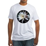 Epiphyte Cactus Flower Fitted T-Shirt