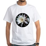 Epiphyte Cactus Flower White T-Shirt