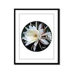 Epiphyte Cactus Flower Framed Panel Print