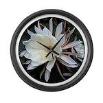 Epiphyte Cactus Flower Large Wall Clock