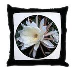Epiphyte Cactus Flower Throw Pillow